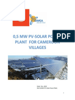 05 Mw Pv-solar Power Plant Brochure Dec 2013