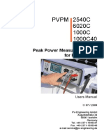 Manual PVPM