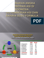 Gambaran Angka Pemberian ASI Di Indonesia , UU