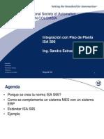 Integración con Piso de Planta-ISA S95 - Sandra Estrada