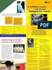 Million reasons not to eat kangaroo meat