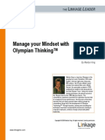 Marilyn King Manage Your Mindset With Olympian Thinking