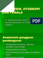 Anamnesis, Otoskopi Dan Penala