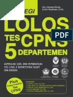Full Strategi Lolos Tes CPNS 5 Departemen