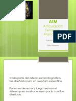 ATM. Curso de Inducción a Las Ciencias Médicas, Odontológicas y de La Salud