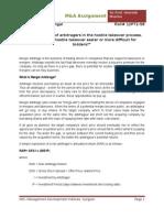 Merger Arbitrage- Assignment