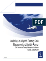 Airbus Werner Analyzing Liquidity With Treasury Cash Management and Liquidity Planner
