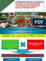 Bahan Presentasi Di Kementerian PDT Tgl 28 Mei 2014