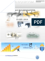 Daily Mcx Newsletter 19sep2014