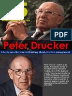 Peter Drucker 25 Management Lessons