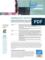 Proof Point Simplifying HPC with Intel® Cluster Ready Case Study