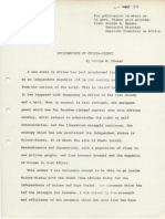 American Committee on Africa -- Independence of Guinea-Bissau