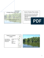 Ecological structure and function of Hudson River shore zones