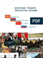 International Dispute Resolution System Final
