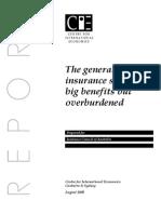 General Insurance-big Benefit but Overburdened
