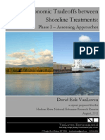Economic Tradeoffs between Shoreline Treatments:Phase I – Assessing Approaches