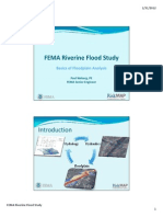 FEMA Riverine Flood Study