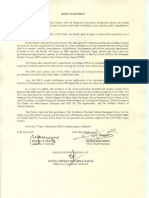 GRP-MILF Joint Statement On the Resumption Formal Talks dated 09 December