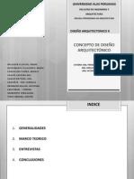 Concepto de Diseño Arqui - UAP