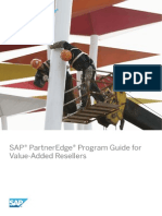 SAP PartnerEdge Program Guide for Value-Added Resellers