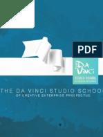 The Da Vinci Studio School of Creative Enterprise - Course Prospectus