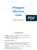 Philippine Electrical Code for RME Hacked
