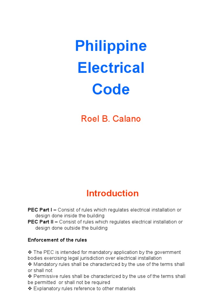 philippine electrical code for rme hacked electrical wiring rh scribd com Electrical Fuse Electrical Engineering