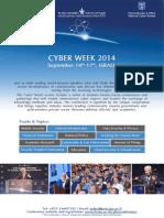 Israeli Cyber Week 2014