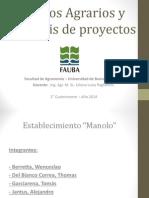 Costos Agrarios y Análisis de Proyectos