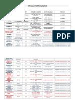 Plan Extraescolares 2014-15