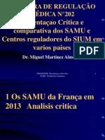 REG00POR Presentaçao Do SAMU Da França