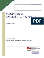 Basisprincipes en 61439-1 - En 60204-1 Rtc Vl Brv