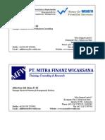 Kartu Nama MoneyforWealth_SSH