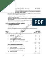Class 12 Cbse Economics Syllabus 2013