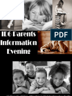 Parents Info Evening 14-15
