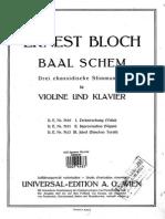 Ernest Bloch Nigun