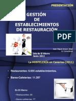 Gestion de Restauracion