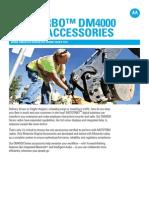 DM4000 Accessories Fact Sheet
