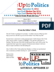 Wake Up to Politics - September 19, 2014
