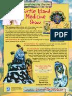Turtle Island Medicine Show promotional flyer
