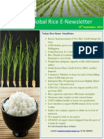 18th September,2014 Daily Global Rice E-Newsletter by Riceplus Magazine