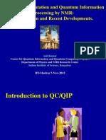 quantum studies in IISC