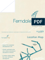 ferndale villas project brief