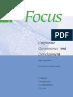 Jurnal - Claessens - Corporate Governance and Development