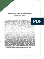 Aristoteles Ve Sokratesten Oncekiler - Joachim Ritter-libre