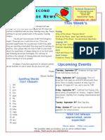 September 19 Newsletter