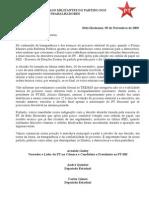 Carta Aberta Aos Militantes Do Partido Dos Trabalhadores[1]