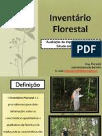 Inventário Florestal Curso Tecnico