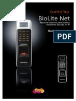 BioLite Net User Guide (Spanish)