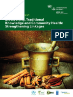 Biodiversity Traditional Knowledge and Community Health_final